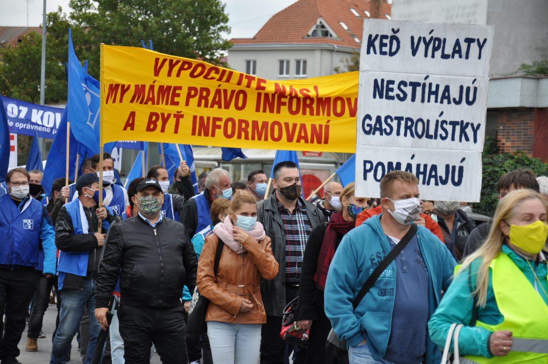 Postavenie odborov na Slovensku sa prijatými zákonmi oslabuje (1. časť)