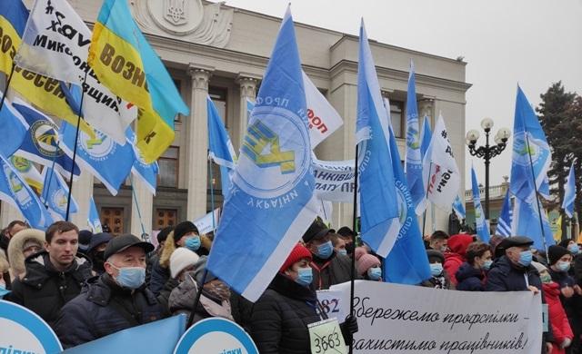 Vyhlásenie Federácie odborových zväzov Ukrajiny v súvislosti s pokračujúcou ofenzívou o právach pracovníkov a odborových zväzov