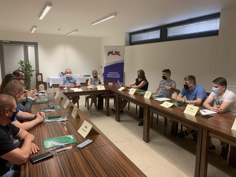 Stretnutie mladých odborárov v Prešove