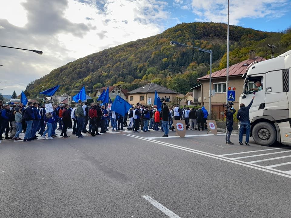 OZ KOVO pokračuje v protestných aktivitách v Nitre